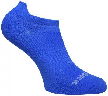 Profi Sportsocke Sneakers Low Tab Gr.S - blau, - anti-blasen Socken WRIGHTSOCK