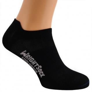 Profi Sportsocke Sneakers Low Tab Gr. M -schwarz - anti-blasen Socken WRIGHTSOCK