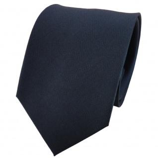 TigerTie Satin Seidenkrawatte petrol grün dunkelgrün einfarbig - Krawatte Seide