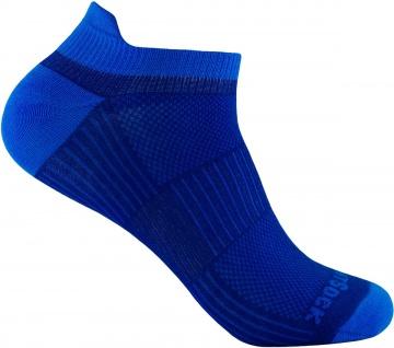 Profi Sportsocke Sneakers Low Tab Gr. L - royal, - anti-blasen Socken WRIGHTSOCK