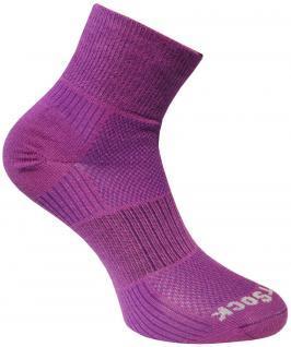WRIGHTSOCK Sportsocke Coolmesh II in pflaume - Anti-blasen- Socken mittellang Gr.L - Vorschau 1