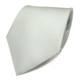 Mexx Seidenkrawatte mint blassmint einfarbig Uni - Krawatte Seide Silk