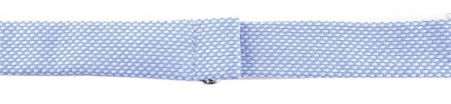 TigerTie Kleinkinder Baby Fliege in hellblau-weiss mit Sichtband + Tuch + Box - Vorschau 4