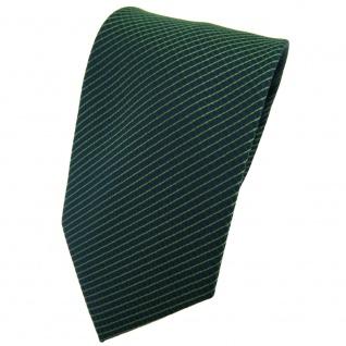 TigerTie Krawatte grün dunkelgrün kariert - Tie Binder