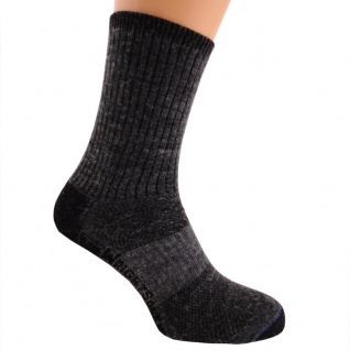 WRIGHTSOCK Profi Wandersocke anti-blasen-system lange graue Socken Gr. M