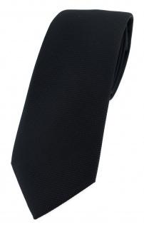 Modische TigerTie Designer Krawatte in schwarz fein gepunktet