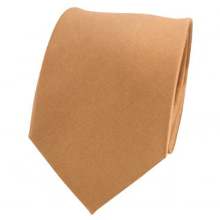 schöne TigerTie Designer Seidenkrawatte in gold bronze - Tie Krawatte 100% Seide
