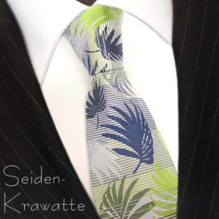 MEXX Krawatte Seide Mehrfarbig mit Motiv