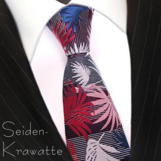 MEXX Krawatte Mehrfarbig mit Motiv, Seide
