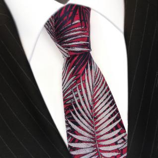 Mexx Krawatte Mehrfarbig mit Motiv 100 % Seide