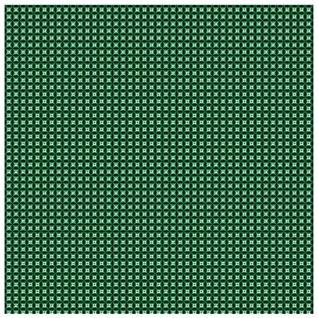 Tuch 100/% Seide TigerTie Seidennickituch in grün schwarz silberweiss gemustert