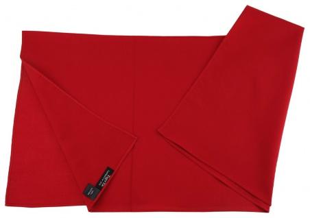 TigerTie Nickituch Halstuch in rot Uni - Tuchgröße 60 x 60 cm - 100% Baumwolle - Vorschau 2