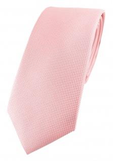 Modische TigerTie Designer Krawatte in rosa fein gepunktet
