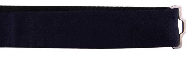 TigerTie Kleinkinder Baby Seidenfliege marine-schwarzblau creme-beige 100% Seide - Vorschau 2