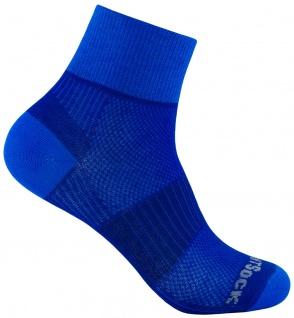 WRIGHTSOCK Profi Sportsocke Coolmesh II blau-royal - anti-blasen - Socken Gr.M