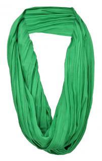 TigerTie Loop Schal in grün knallgrün einfarbig Uni - Schlauchschal Rundschal