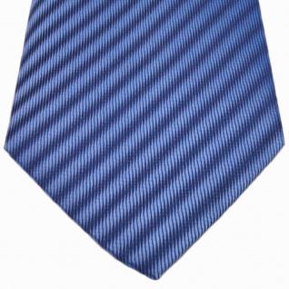 Mexx Seidenkrawatte blau dunkelblau gestreift - Krawatte Seide Silk - Vorschau 2