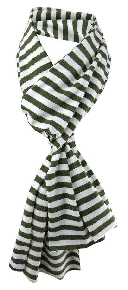 172 cm x 27 cm Halstuch Tuch Damen Schal in rot rosa gestreift Gr