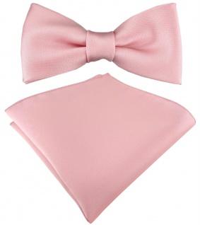 Kleinkinder Baby Fliege in rosa mit Gummizug + Einstecktuch + Box - Vorschau 1