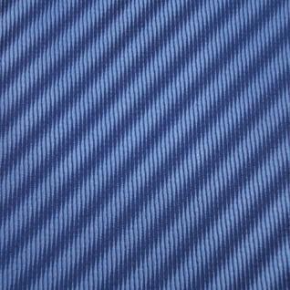 Mexx Seidenkrawatte blau dunkelblau gestreift - Krawatte Seide Silk - Vorschau 3