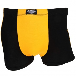 Boxershorts Retro Shorts Unterwäsche Herren Unterhose Pants gelb Baumwolle Gr. L