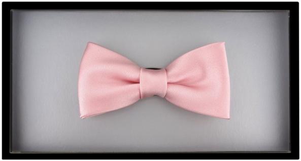 Kleinkinder Baby Fliege in rosa mit Gummizug 29 bis 40 cm Halsumfang verstellbar - Vorschau 3
