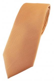 Modische TigerTie Designer Krawatte in lachs fein gepunktet