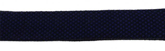 TigerTie Plastron Pique 2tlg Krawatte fertig gebunden in marine uni gemustert - Vorschau 5