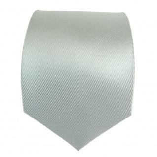 Mexx Seidenkrawatte mint blassmint einfarbig Uni - Krawatte Seide Silk - Vorschau 2