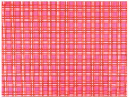 Multifunktionstuch orange rosapink karos - Tuch -Schal -Schlauchtuch -Wundertuch