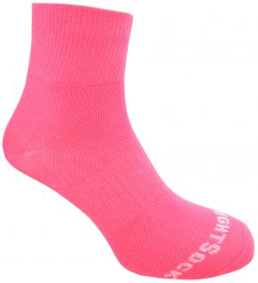 WRIGHTSOCK Sportsocke Coolmesh II neon pink -anti-blasen- Socken mittellang Gr.M - Vorschau 1