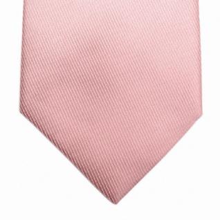Mexx Krawatte in Uni rosa Seide Silk - Vorschau 2