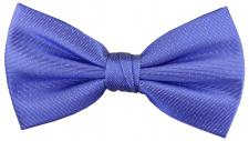 TigerTie Seidenfliege blau in silber gepunktet, Fliege 100% Seide