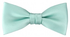 Kleinkinder Baby Fliege mint grün Uni - Gr. 29 bis 50 cm Halsumfang verstellbar