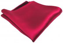 schönes gewebtes TigerTie Designer Satin Seideneinstecktuch in rot Uni einfarbig