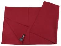 TigerTie Nickituch Halstuch bordeaux Uni - Tuchgröße 60 x 60 cm - 100% Baumwolle