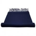 TigerTie Schal in blau kobaltblau Uni 100 % Polyacryl / Cashmink 30cm x 180cm