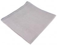 feines Chiffon Seideneinstecktuch silber grau Uni - Einstecktuch 100% Seide