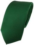 Modische TigerTie Designer Krawatte in grün dunkelgrün schwarz fein gestreift
