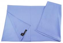 TigerTie Nickituch Halstuch hellblau Uni - Tuchgröße 60 x 60 cm - 100% Baumwolle