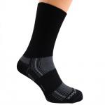 WRIGHTSOCK Profi Laufsocke Wandersocke -anti-blasen- lange schwarze Socken Gr. L
