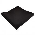 schönes Einstecktuch in schwarz gepunktet - Tuch 100% Polyester