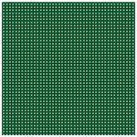 TigerTie Seidennickituch in grün schwarz weiss gemustert - Tuch 100% Seide