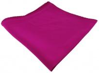feines Seideneinstecktuch in magenta violett Uni - Einstecktuch 100% pure Seide