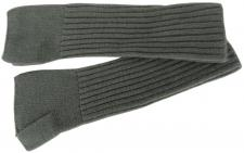 Strick Handstulpen Armstulpen in olive Uni - fingerlose Handschuhe Gr. M