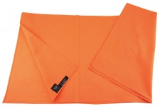 TigerTie Nickituch Halstuch orange Uni - Tuchgröße 60 x 60 cm - 100% Baumwolle