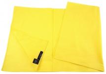 TigerTie Nickituch Halstuch in gelb Uni - Tuchgröße 60 x 60 cm - 100% Baumwolle