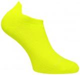 Profi Sportsocke Sneakers Low Tab Gr. L - gelb, - anti-blasen Socken WRIGHTSOCK