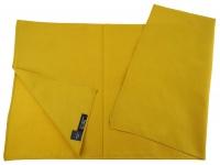 TigerTie Nickituch Halstuch in ocker Uni - Tuchgröße 60 x 60 cm - 100% Baumwolle
