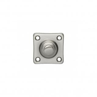 Intersteel Türklingel quadratisch klein Nickel matt